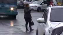 Video:mecidiyekoyde-suruculeri-sasirtan-olay
