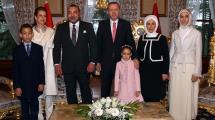 Resim Galeri:erdogan-fas-krali-ile-bir-araya-geldi