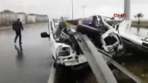 Video:bariyer-otomobile-saplandi-1-olu