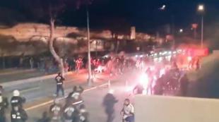 Medya Türk polisini Sırplara hedef yaptı