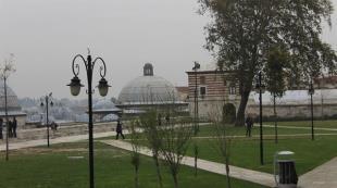 Süleymaniye'deki çadır kaldırıldı
