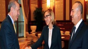 Erdoğan, Beruchaşvili'yi kabul etti