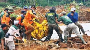 Heyelanda acı bilanço: 79 ölü