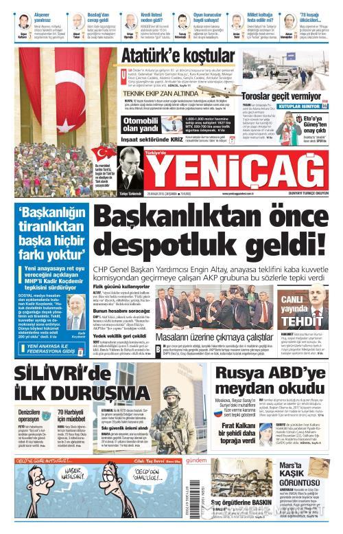 Türkiye'de Yeni Çağ - 28 Aralık 2016