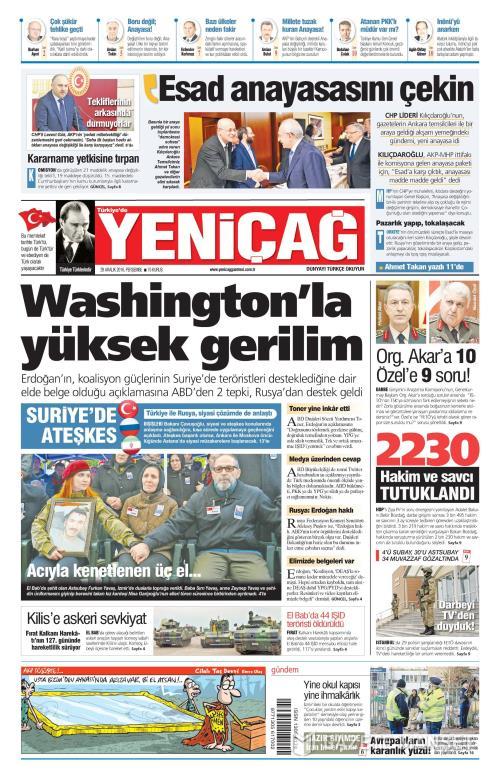 Türkiye'de Yeni Çağ - 29 Aralık 2016
