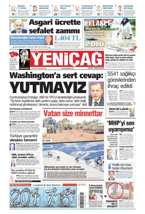 Türkiye'de Yeni Çağ - 30 Aralık 2016