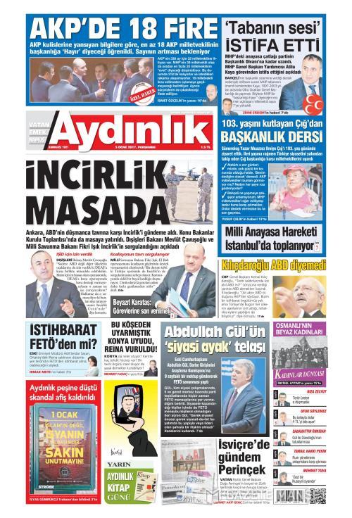 AYDINLIK - 05 Ocak 2017