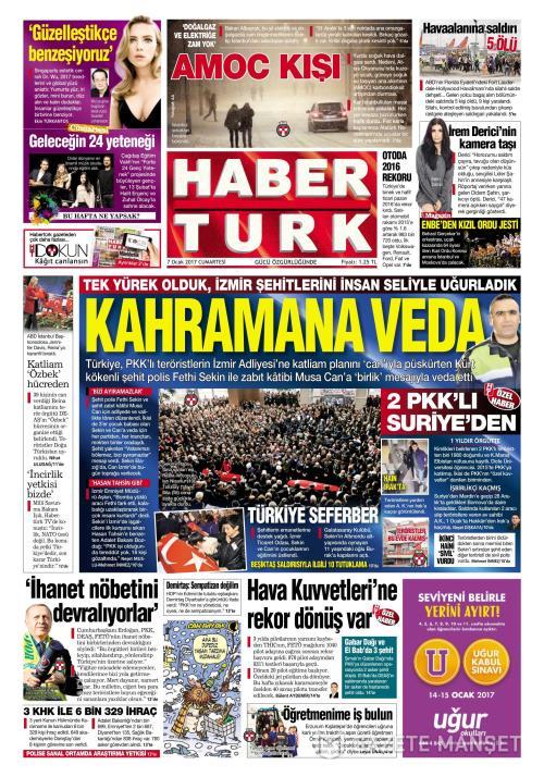 HABERTÜRK - 07 Ocak 2017