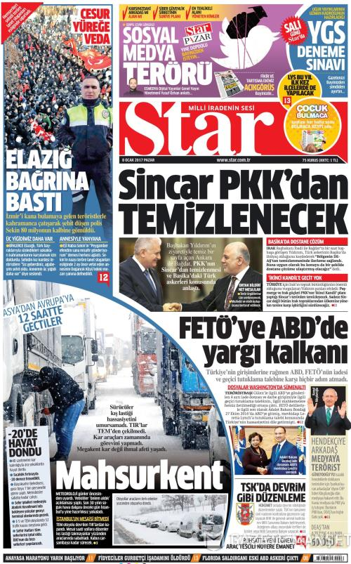 STAR - 08 Ocak 2017