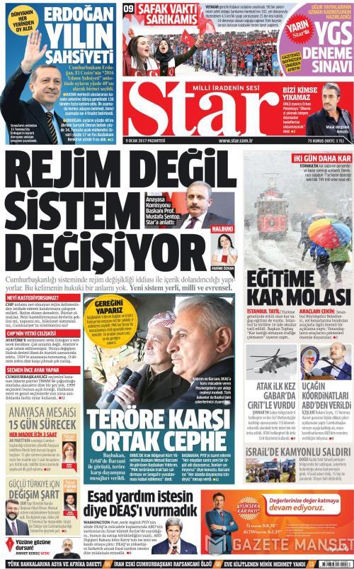 STAR - 09 Ocak 2017