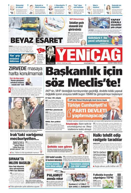 Türkiye'de Yeni Çağ - 09 Ocak 2017