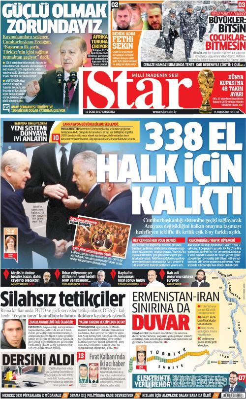 STAR - 11 Ocak 2017