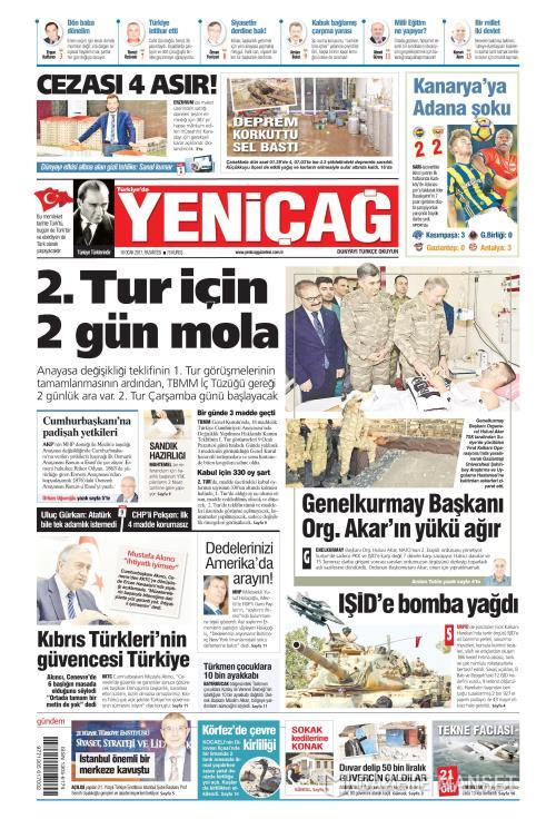 Türkiye'de Yeni Çağ - 16 Ocak 2017