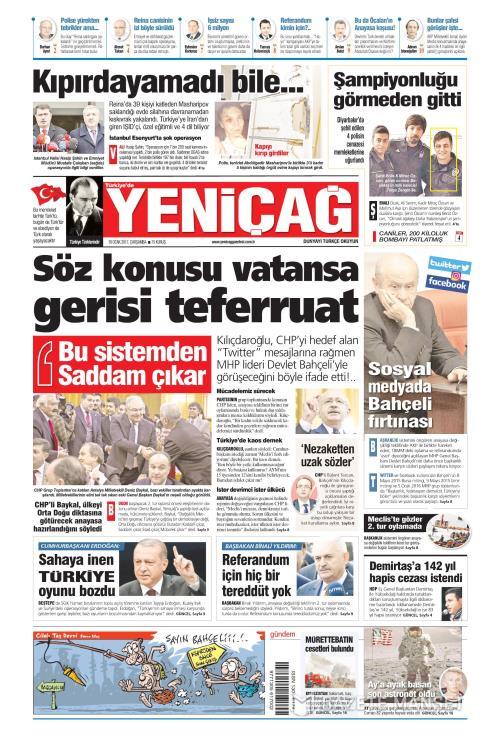 Türkiye'de Yeni Çağ - 18 Ocak 2017