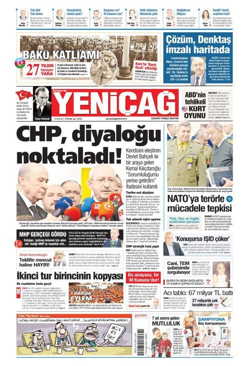 Türkiye'de Yeni Çağ - 19 Ocak 2017
