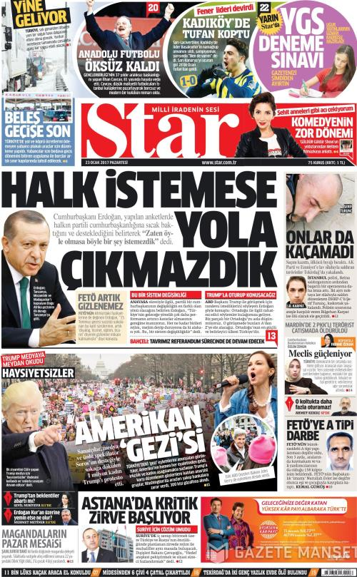 STAR - 23 Ocak 2017