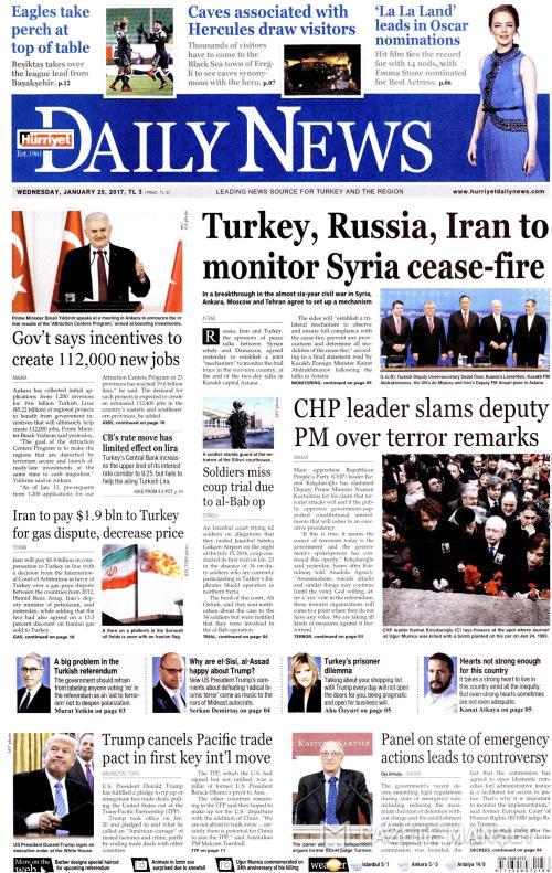 HÜRRİYET DAİLY NEWS - 25 Ocak 2017