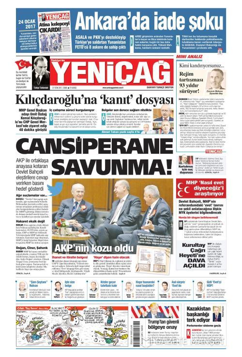 Türkiye'de Yeni Çağ - 27 Ocak 2017