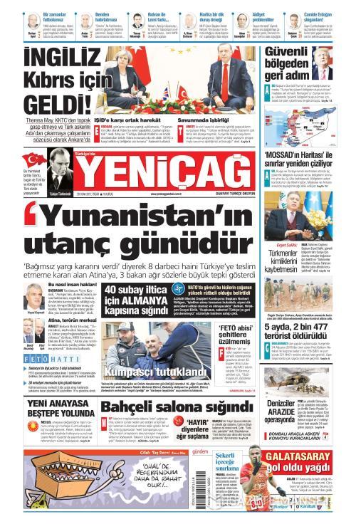 Türkiye'de Yeni Çağ - 29 Ocak 2017