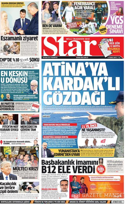 STAR - 30 Ocak 2017
