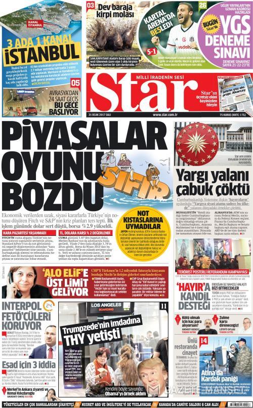 STAR - 31 Ocak 2017