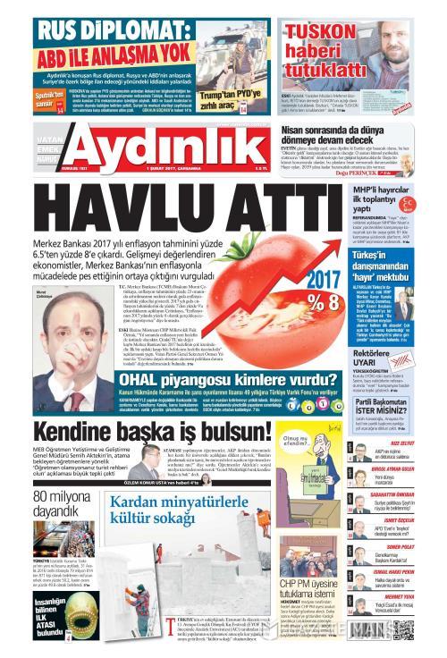 AYDINLIK - 01 Şubat 2017