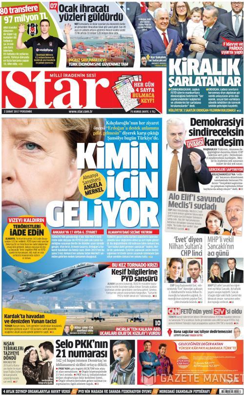 STAR - 02 Şubat 2017