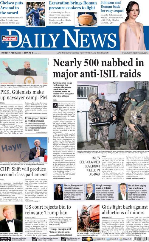 HÜRRİYET DAİLY NEWS - 06 Şubat 2017