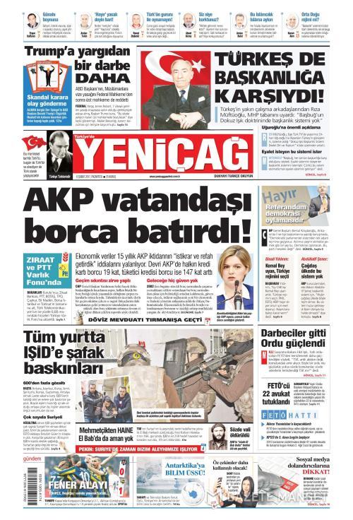 Türkiye'de Yeni Çağ - 06 Şubat 2017