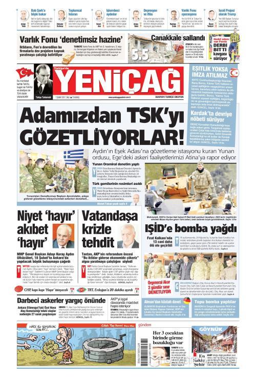 Türkiye'de Yeni Çağ - 07 Şubat 2017