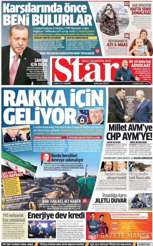 STAR - 09 Şubat 2017
