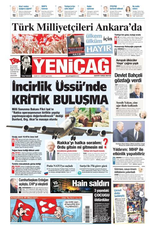 Türkiye'de Yeni Çağ - 18 Şubat 2017