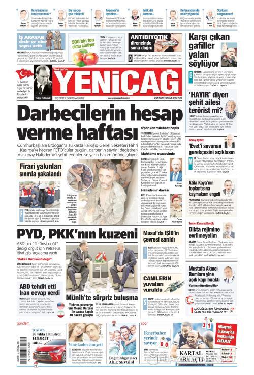Türkiye'de Yeni Çağ - 20 Şubat 2017