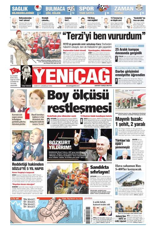 Türkiye'de Yeni Çağ - 22 Şubat 2017