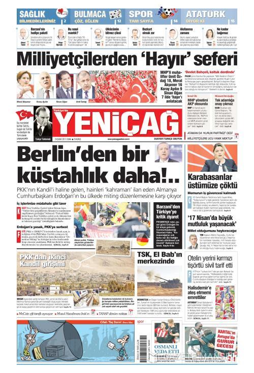 Türkiye'de Yeni Çağ - 24 Şubat 2017