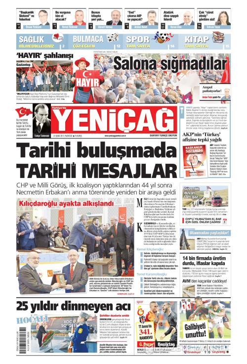 Türkiye'de Yeni Çağ - 27 Şubat 2017