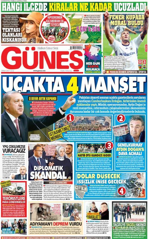 GÜNEŞ - 03 Mart 2017