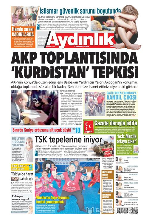 AYDINLIK - 05 Mart 2017