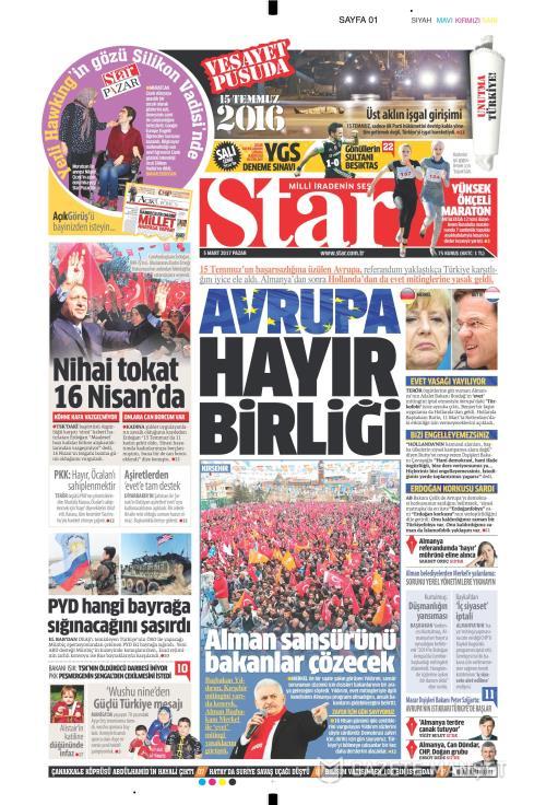 STAR - 05 Mart 2017