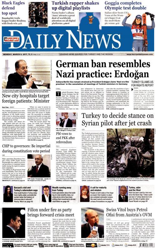 HÜRRİYET DAİLY NEWS - 06 Mart 2017