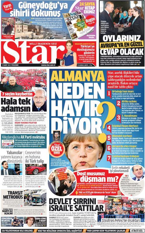 STAR - 09 Mart 2017
