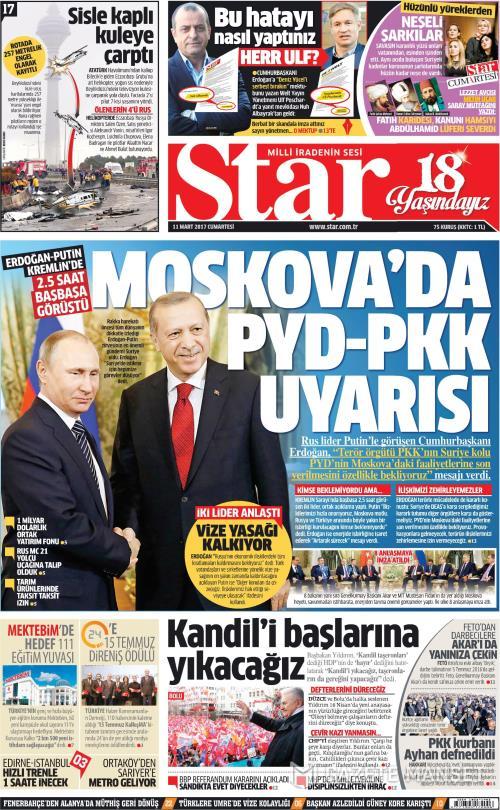 STAR - 11 Mart 2017