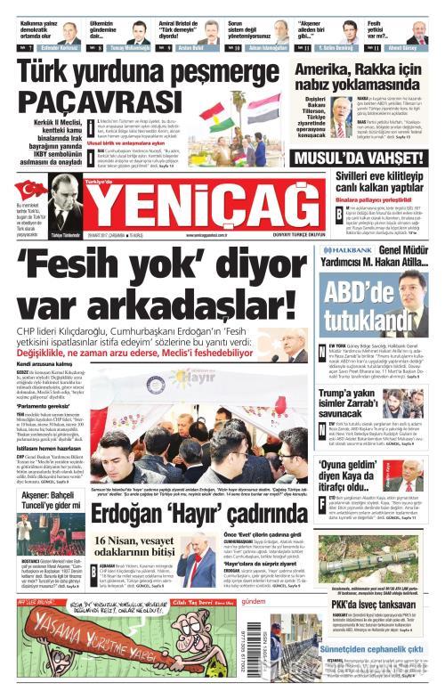 Türkiye'de Yeni Çağ - 29 Mart 2017