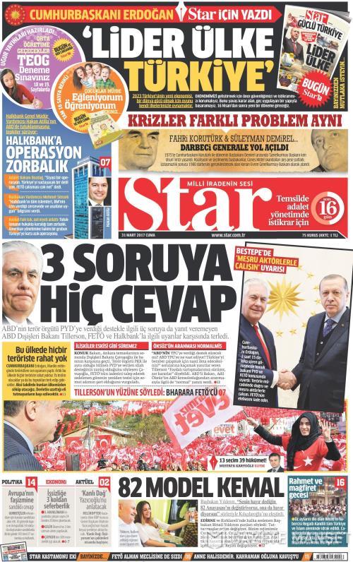 STAR - 31 Mart 2017