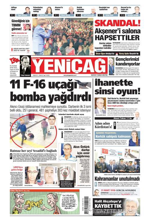 Türkiye'de Yeni Çağ - 01 Nisan 2017