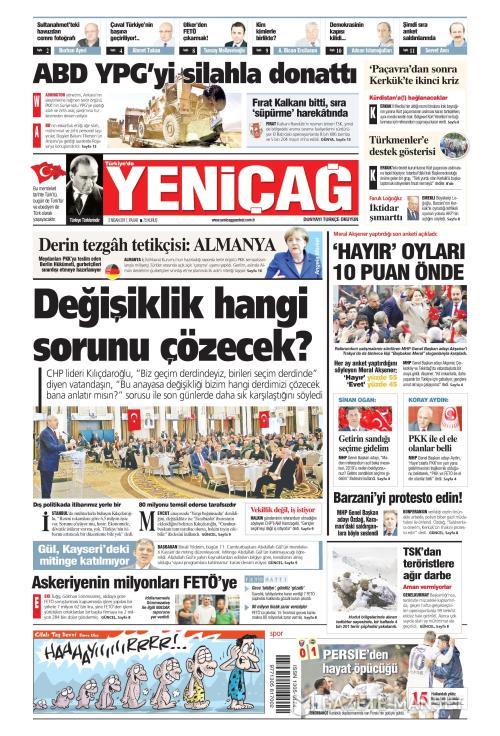 Türkiye'de Yeni Çağ - 02 Nisan 2017