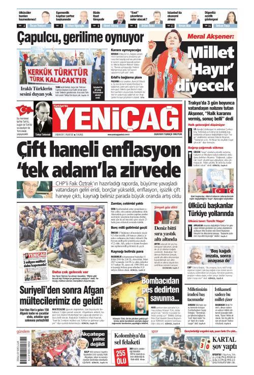 Türkiye'de Yeni Çağ - 03 Nisan 2017