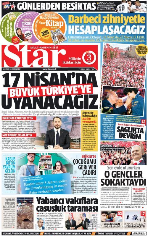STAR - 13 Nisan 2017