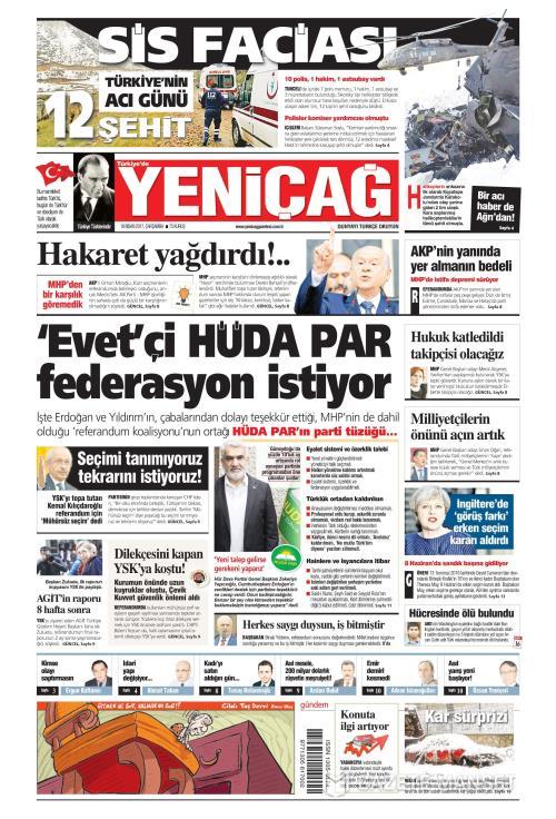Türkiye'de Yeni Çağ - 19 Nisan 2017