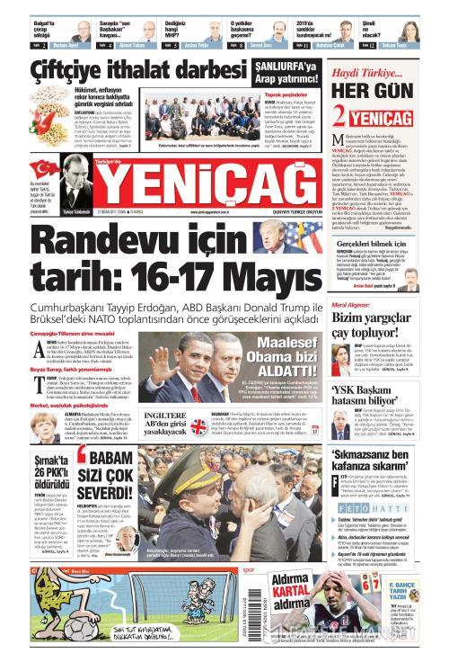 Türkiye'de Yeni Çağ - 21 Nisan 2017